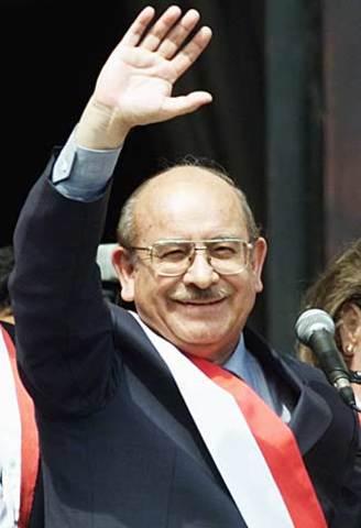 Inicio del Gobierno Transitorio de Valentin Paniagua