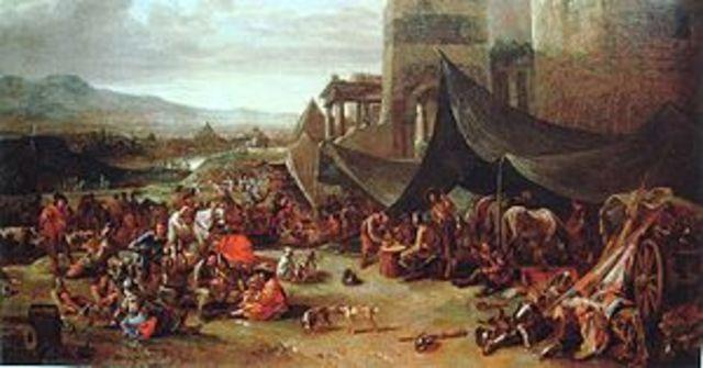 Charles V sacks Rome
