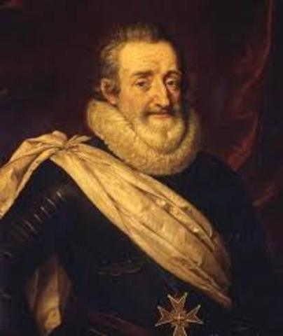 Henry IV Promotes Catholicism