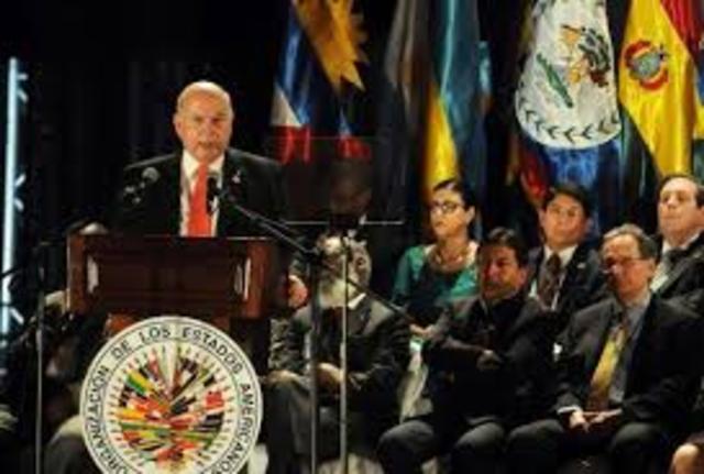 Se crea el Foro Interamericano de Paz que opera bajo el fondo de Paz