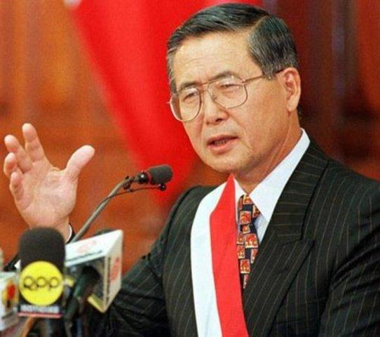 Inicio del tercer mandato de Alberto Fujimori