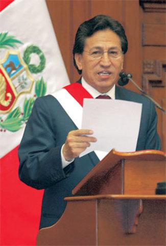 Inicio del gobierno de Alejandro Toledo