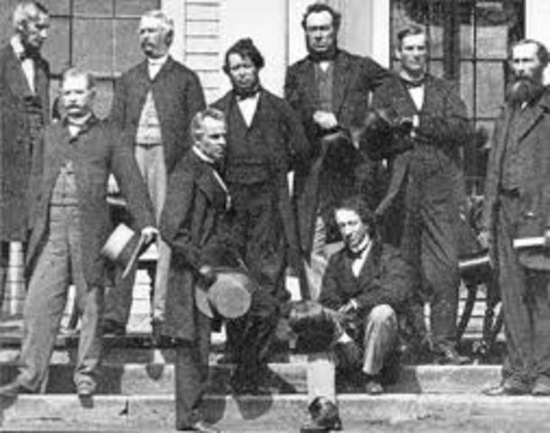Begining of the idea of Confederation