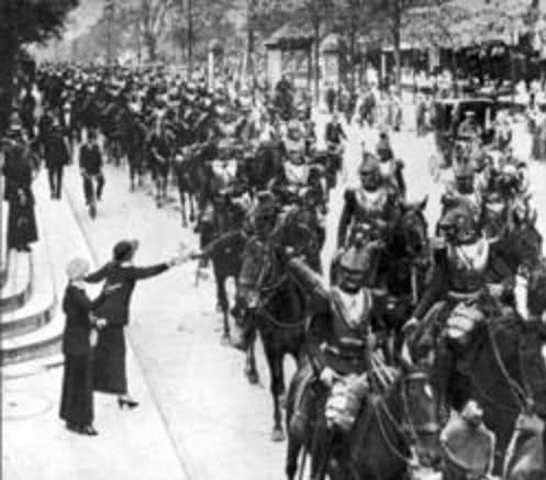 Austria-Hungary invades Serbia