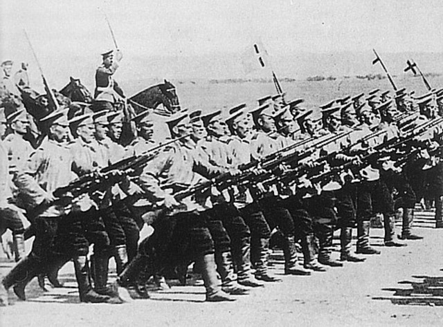 Autro-German forces attack Western Poland