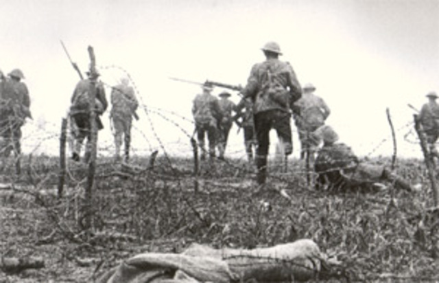 French and British launch offensive