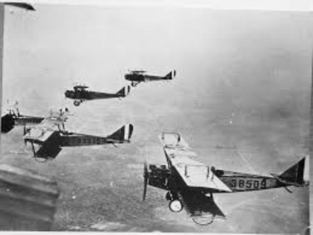 First German Air Raids on Britain Begin