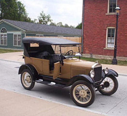 Producción del Ford T