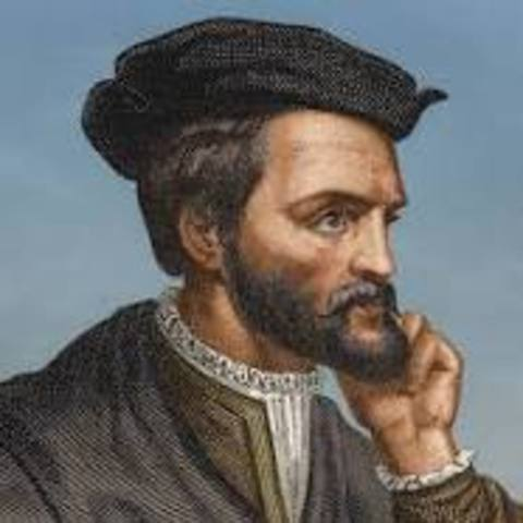 Jacques Cartier's first voyage - 1534