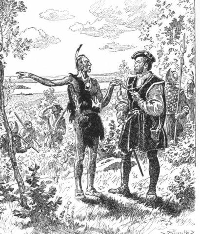 Jacques Cartier's second voyage - 1535-1536