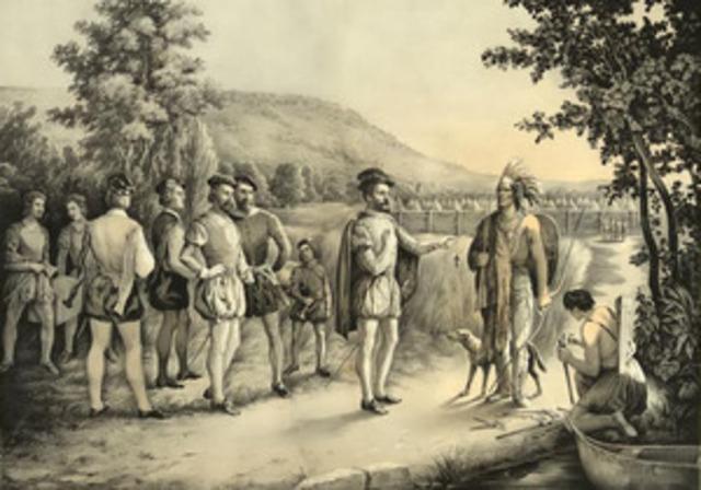 Jacques Cartier's third voyage - 1541-1542