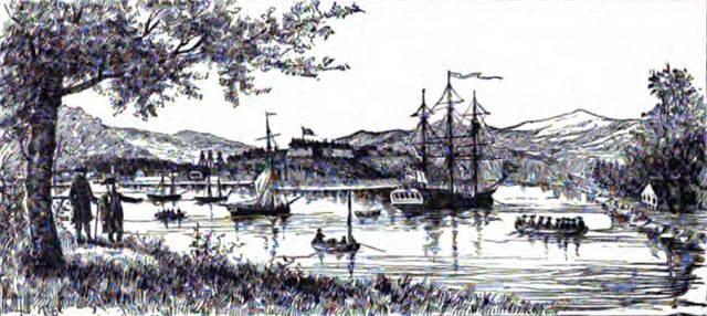 Habitation at Port Royal - Samuel de Champlain