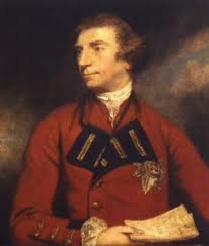 British Military Rule - 1760-1763