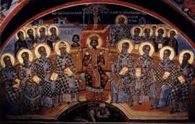 Outcome: The Council of Nicea