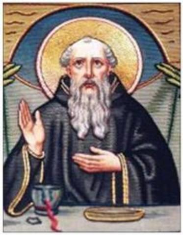 Saint Benedict's birth.