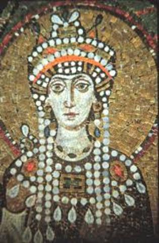Theodora is born