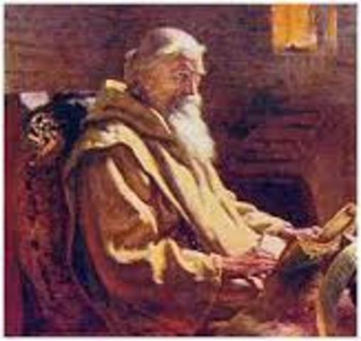 St. Bede is born.