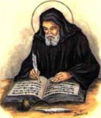 Bede's death.