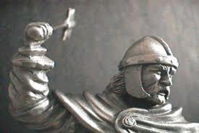 "Charles Martel, ""The Hammer"" dies."