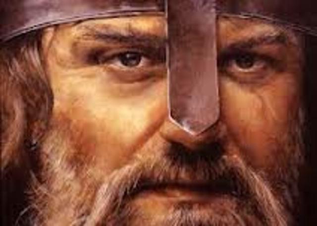 Ivar the Boneless's death.