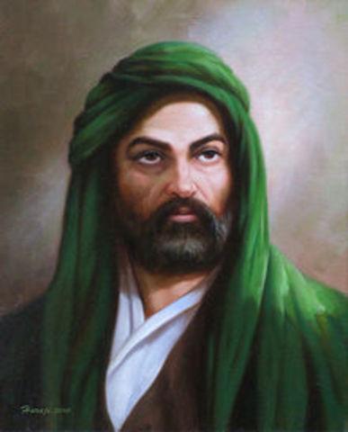 Ali, Muhammad's right hand man, is born!