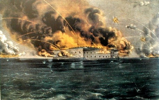 Ft. Sumter Attacked