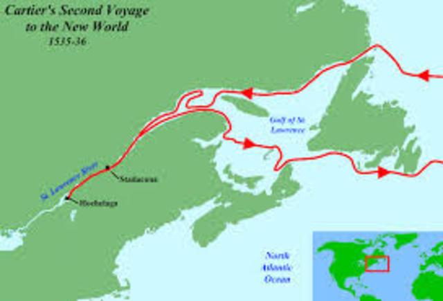 Jacques Cartier- 1st Voyage