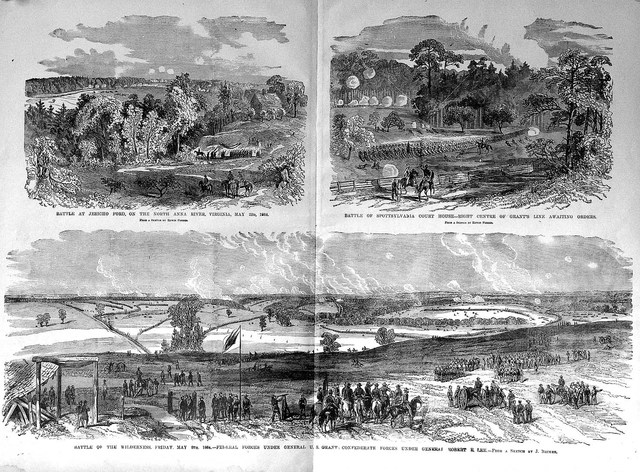 Union Army begins campain towards the south