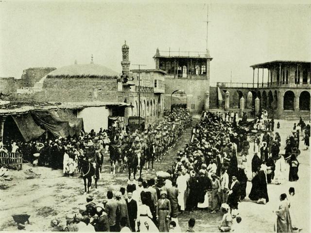Britain seizes Baghdad