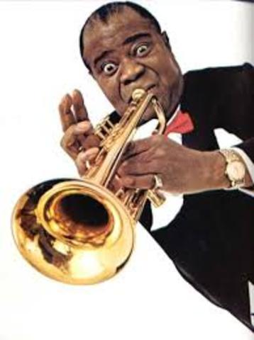 Birth of Louis Armstrong