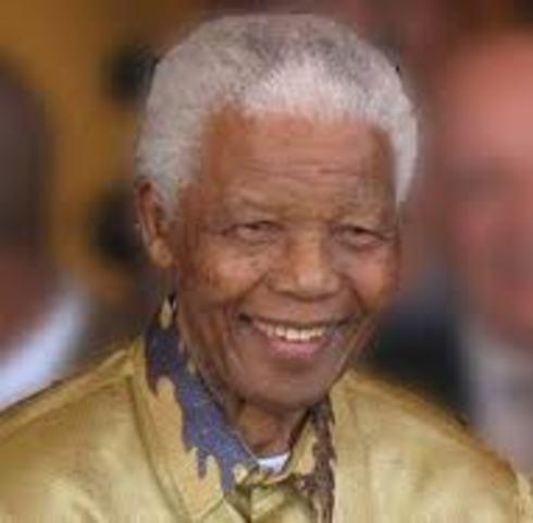 Nelson Mandela is arrested for treason