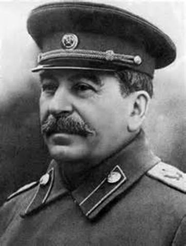 Stalin destroyed almost his entire military leadership