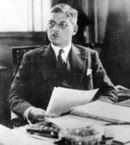 Schuschnigg visited Hitler for crisis talks in Germany