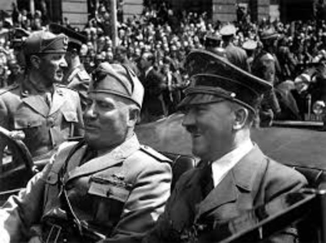 Hitler visited Rome
