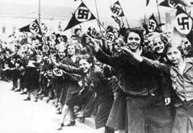 Hitler crossed into Austria