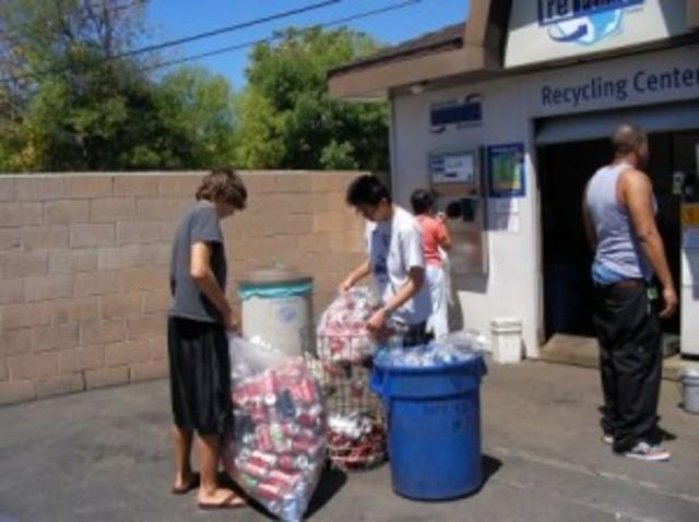 Recycling Door to Door Items