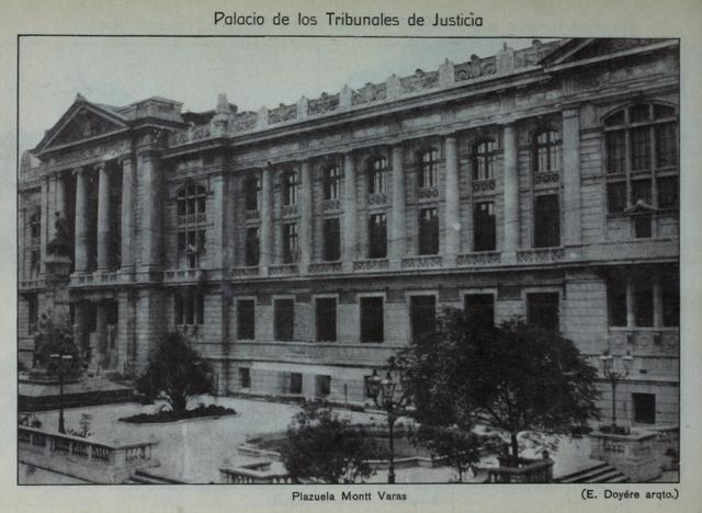 construccion de los tribunales de justicia
