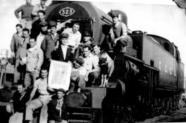 se promulgó la ley sobre retiros y previsión social para los trabajadores de ferrocarriles