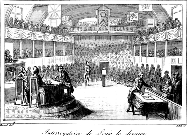 King Louis' Trial and Sentencing