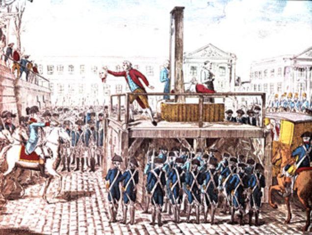 King Louis' Execution