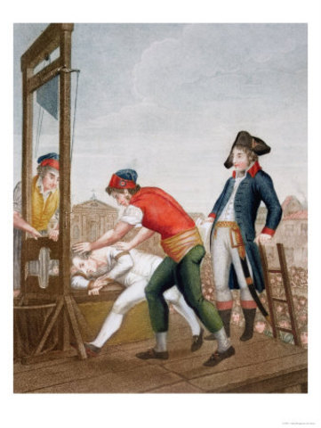Execution of Maximillien Robespierre