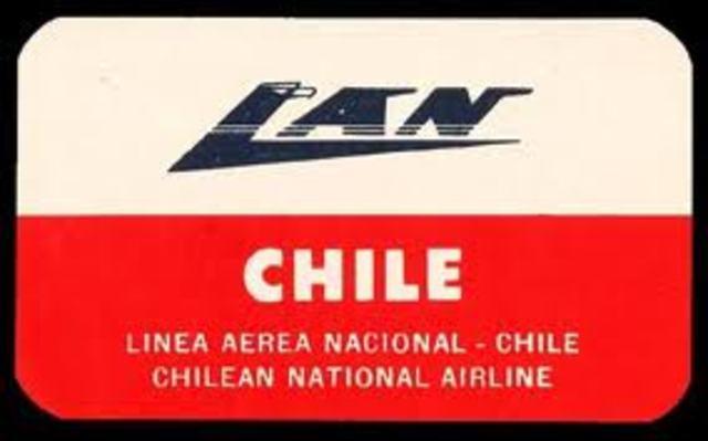 la Línea Aérea Nacional