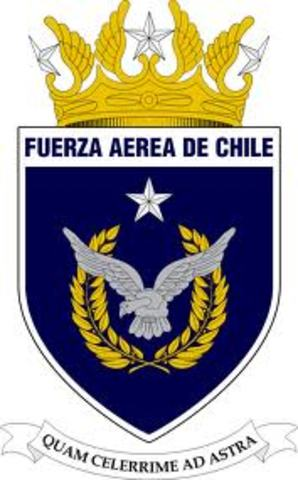 se creo la Fuerza Aérea de Chile