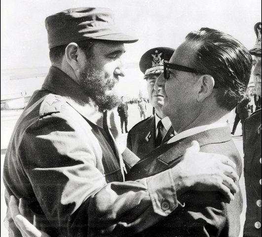 Visita de Fidel Castro.