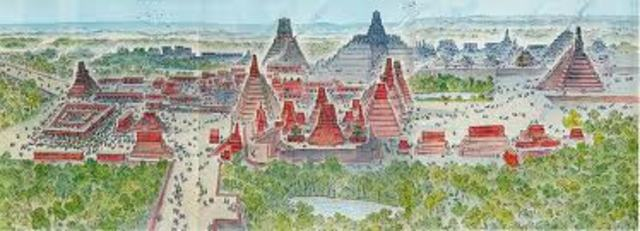 Tikal becomes the dominant power in the Mexican area