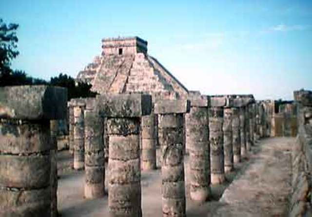 The City of Chichen Itza formed