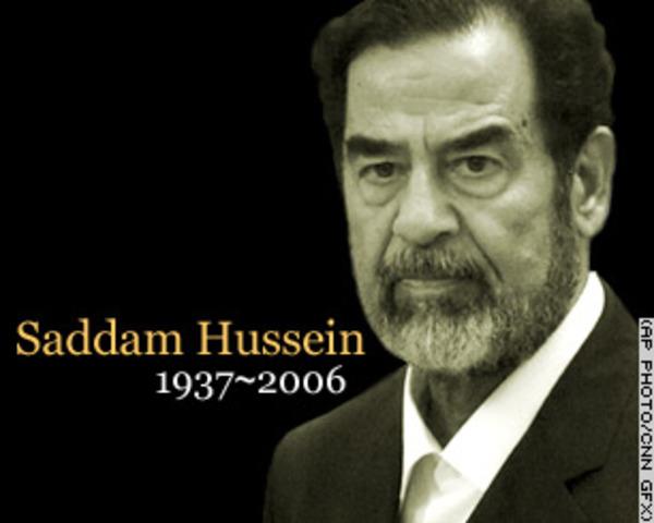 Execution on Saddam Hussein