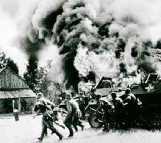 Germany invaded Poland: Start of World War II
