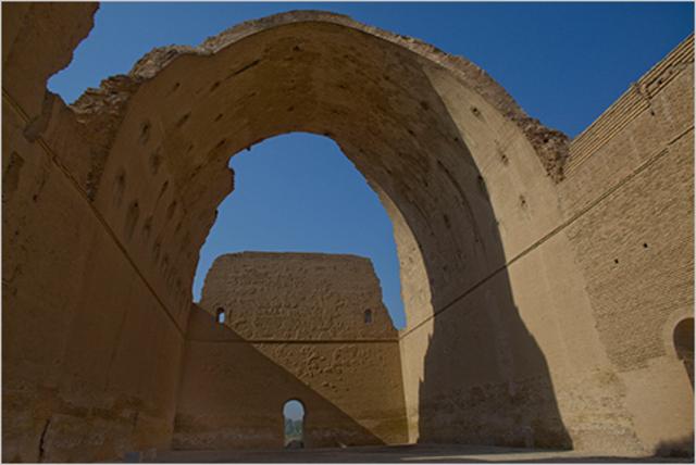 The palace at Ctesiphon