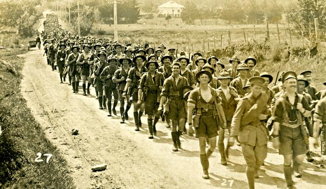 Inicio Primera Guerra mundial